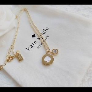 Kate Spade Spot the Spade Necklace New with tags